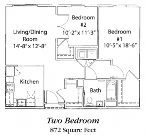 two-bedroom